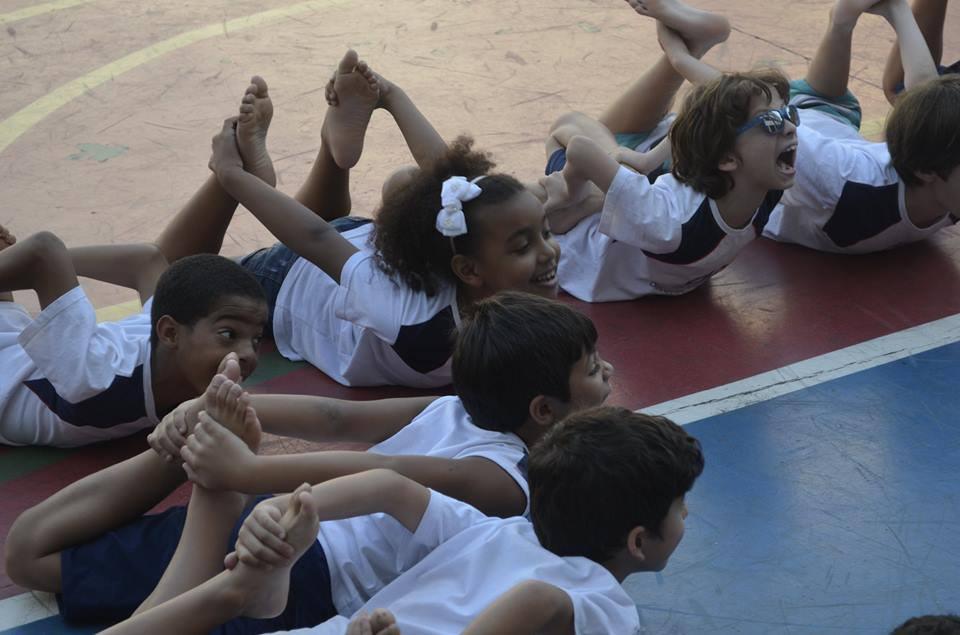 Crianças da Rocinha e Vidigal no Divina Providência