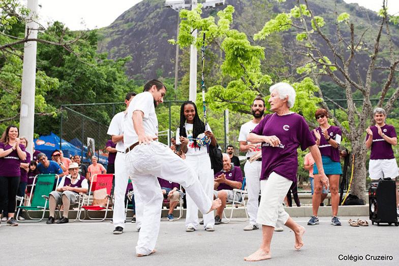 Melhor Idade na Capoeira