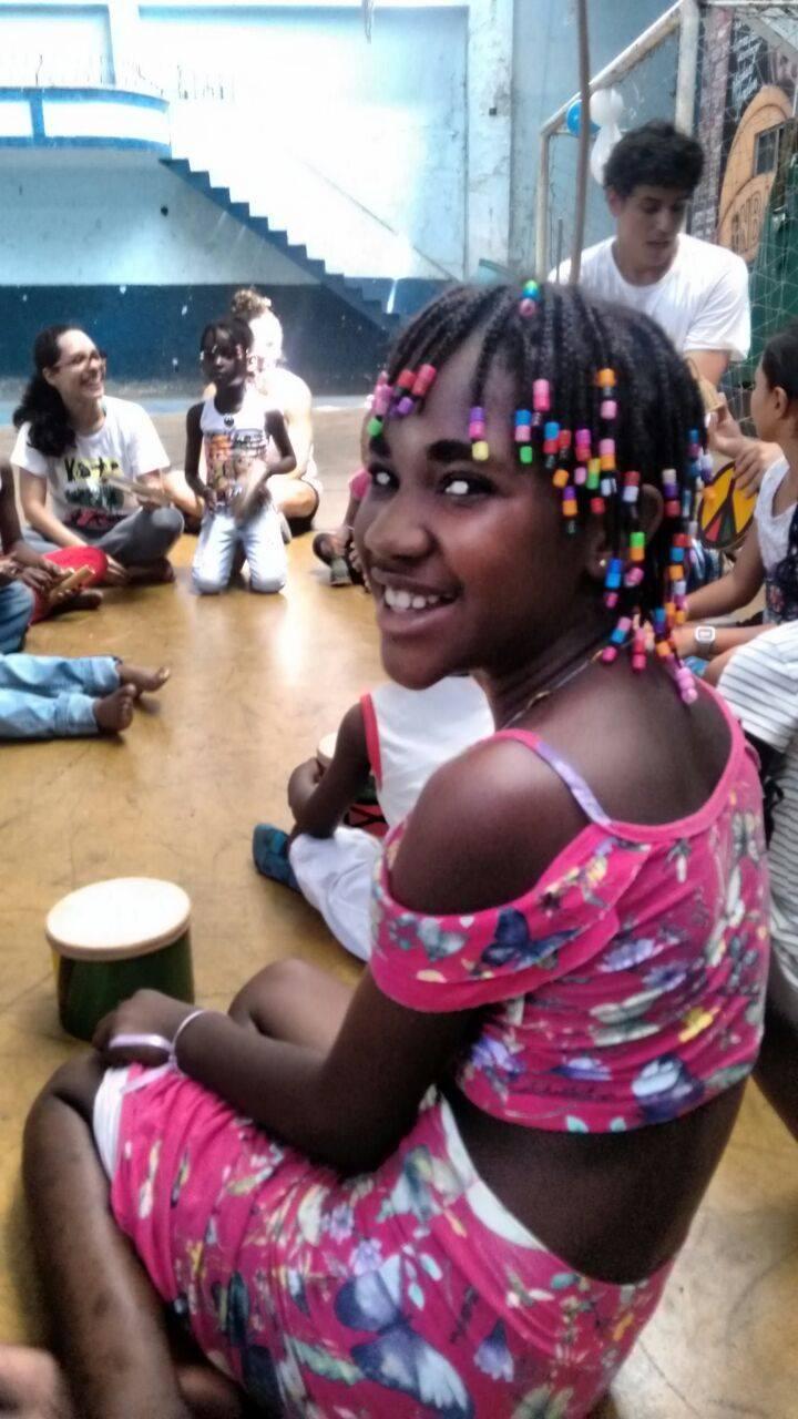 Trabalho com crianças refugiadas na Cáritas